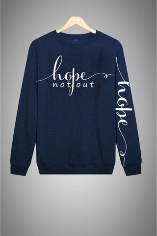Hope Not-Out Signature Sweat Shirt Navy