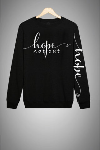 Hope Not-Out Signature Sweat Shirt Black