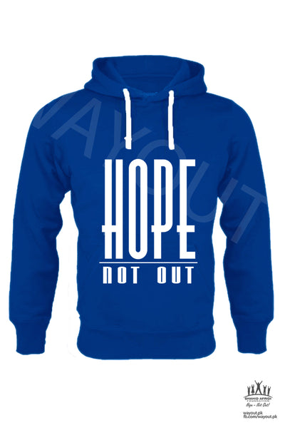 Hope Not-Out Classic Hoodie Royal