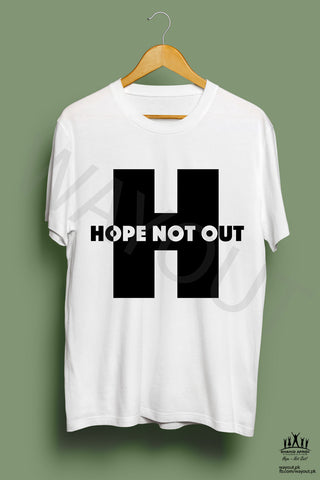 Hope Not-Out Utopia Tee Shirt White