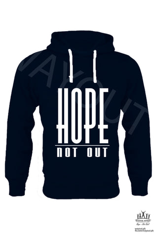 Hope Not-Out Classic Hoodie Navy