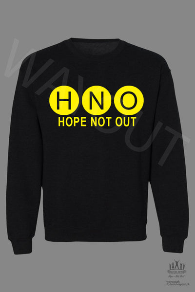 Hope Not-Out Aurora Sweat Shirt Black