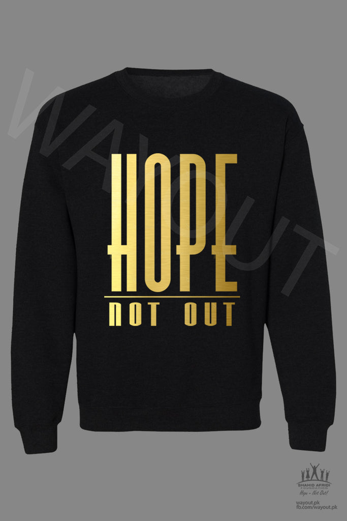 Hope Not-Out Classic Sweat Shirt Black