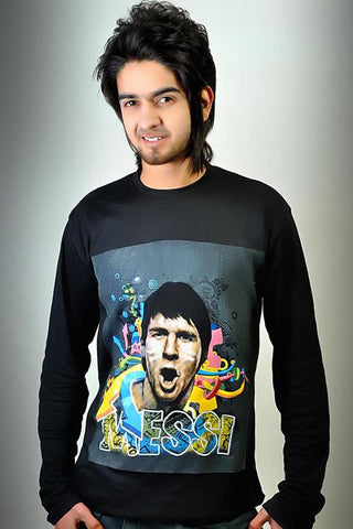 Messi face T-Shirt