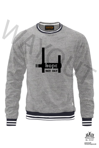 Hope Not-Out Aspire Sweat Shirt Grey