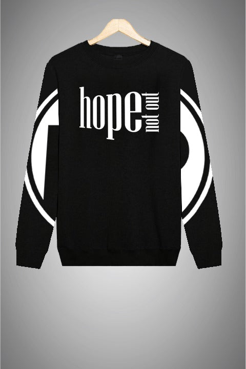 Hope Not-Out Populous Sweat Shirt Black
