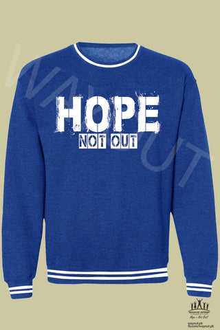 Hope Not-Out Kalopsia Sweat Shirt Royal