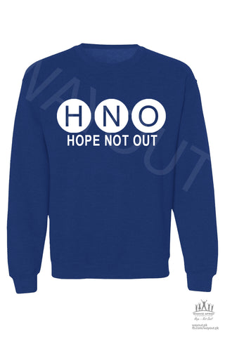 Hope Not-Out Aurora Sweat Shirt Royal