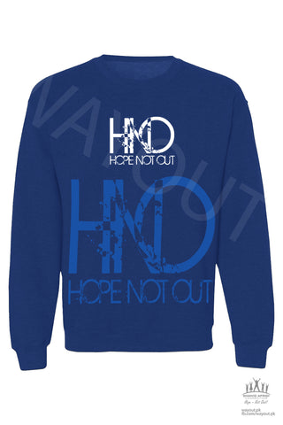 Hope Not-Out Aparteko Sweat Shirt Royal