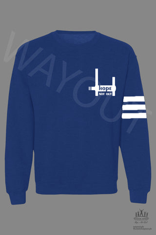 Hope Not-Out Esperanza Sweat Shirt Royal