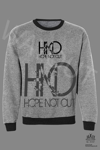 Hope Not-Out Aparteko Sweat Shirt Melange