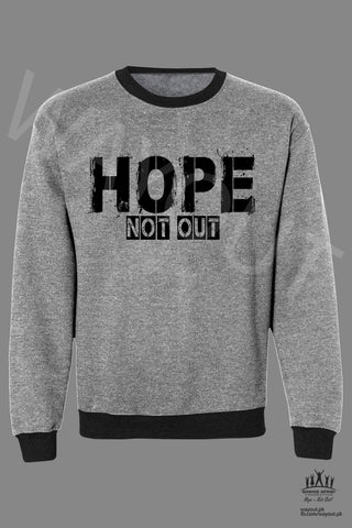 Hope Not-Out Fantasy Sweat Shirt Grey