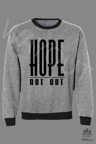 Hope Not-Out Classic Sweat Shirt Melange