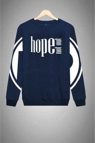 Hope Not-Out Populous Sweat Shirt Navy