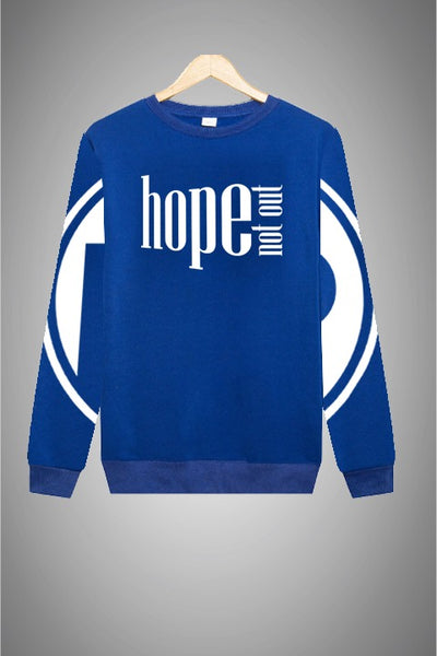 Hope Not-Out Populous Sweat Shirt Royal