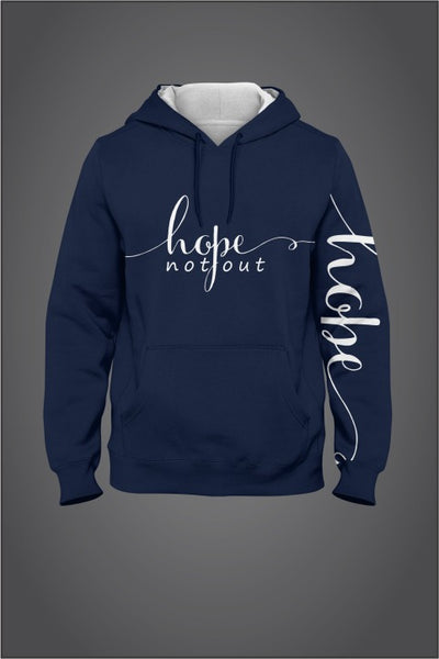 Hope Not-Out Signature Hoodie Navy