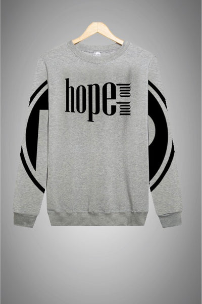 Hope Not-Out Populous Sweat Shirt Melange