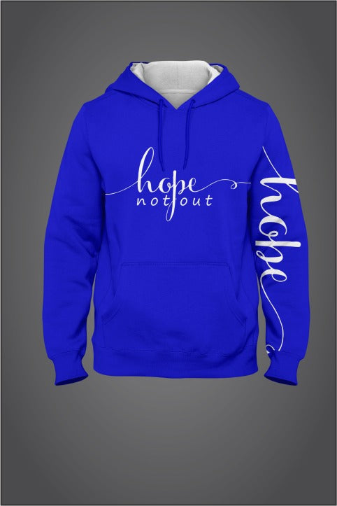 Hope Not-Out Signature Hoodie Royal