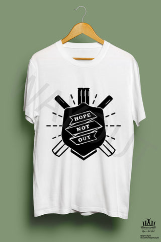Hope Not-Out Shield Tee Shirt White