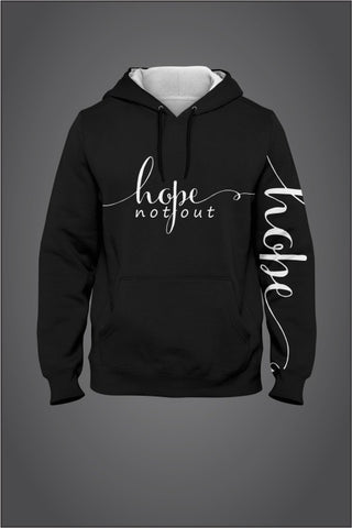 Hope Not-Out Signature Hoodie Black