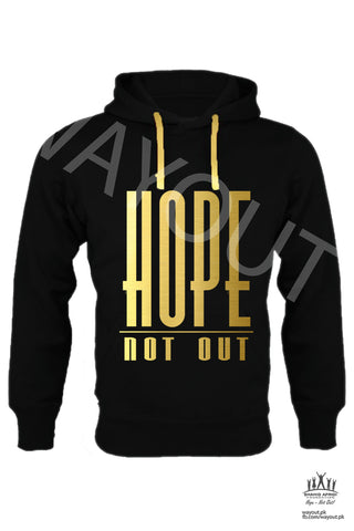 Hope Not-Out Classic Hoodie Black