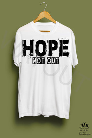 Hope Not-Out Kalopsia Tee Shirt White