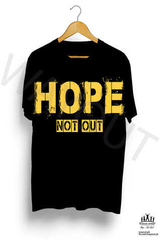 Hope Not-Out Kalopsia Tee Shirt Black