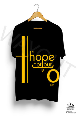 Hope Not-Out Jouska Tee Shirt Black