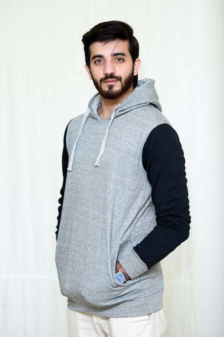 WayOut Bgray Fleece Hoodie