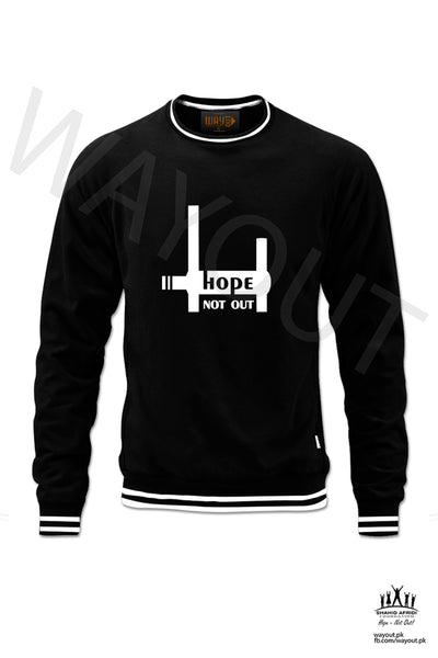 Hope Not-Out Aspire Sweat Shirt Black
