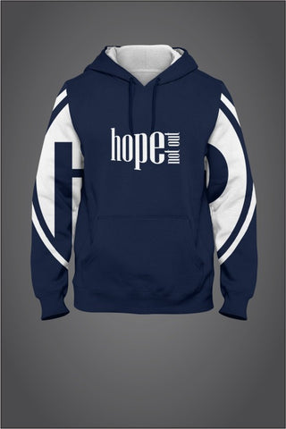 Hope Not-Out Populous Hoodie Navy