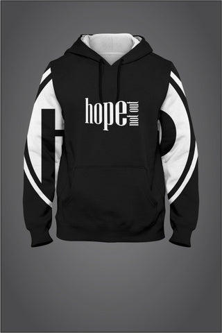 Hope Not-Out Populous Hoodie Black