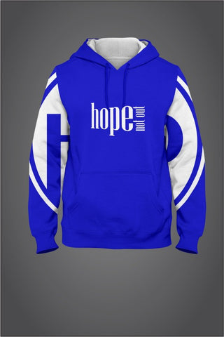 Hope Not-Out Populous Hoodie Royal