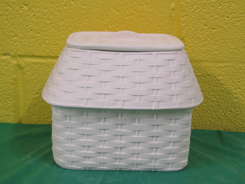 Wicker Cottage w/lid