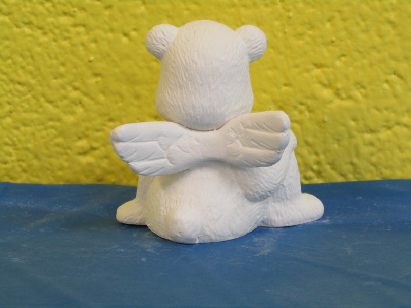 Bear Angel - Sitting, Knee Bent