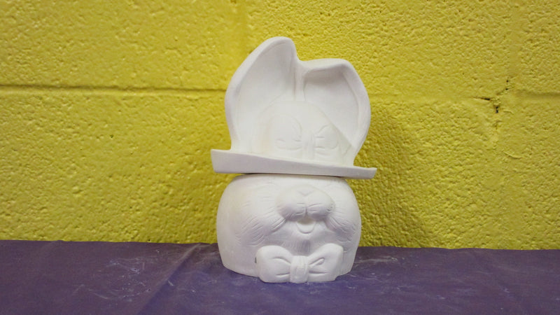 Girl Bunny Candy Dish - 2pc
