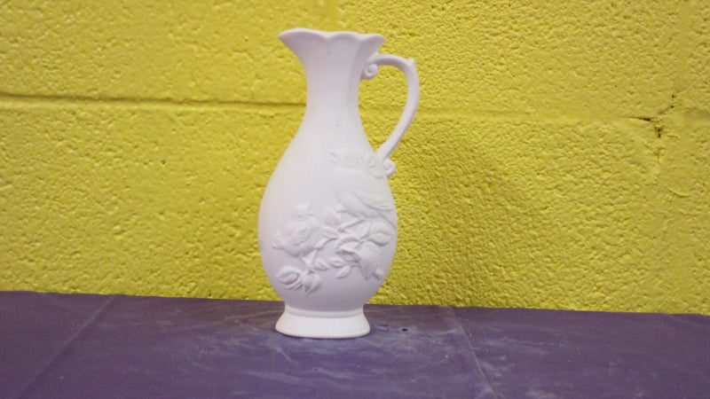 Pitcher w/Bird Vase