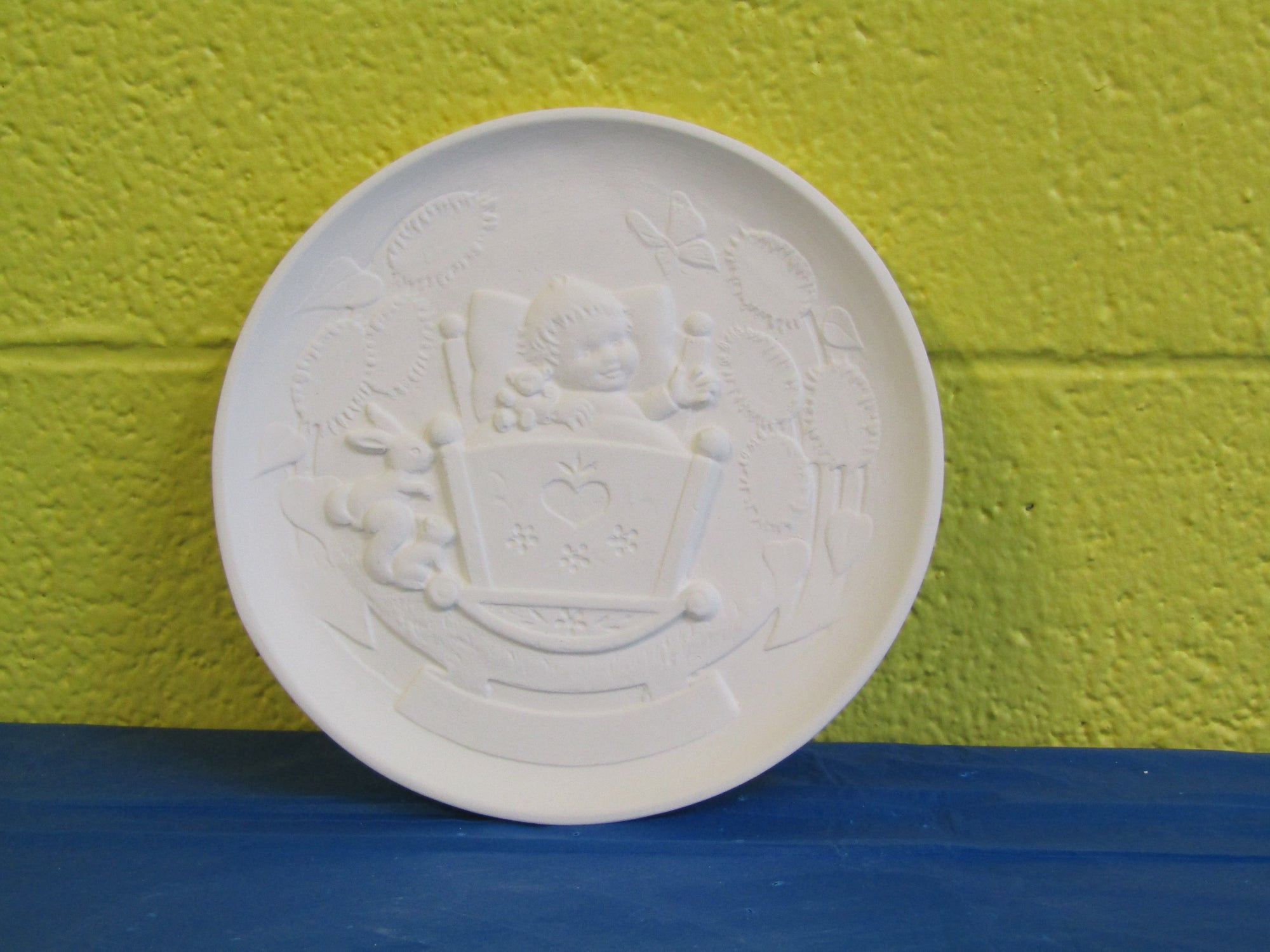 Plate - Baby, Wall Hanging