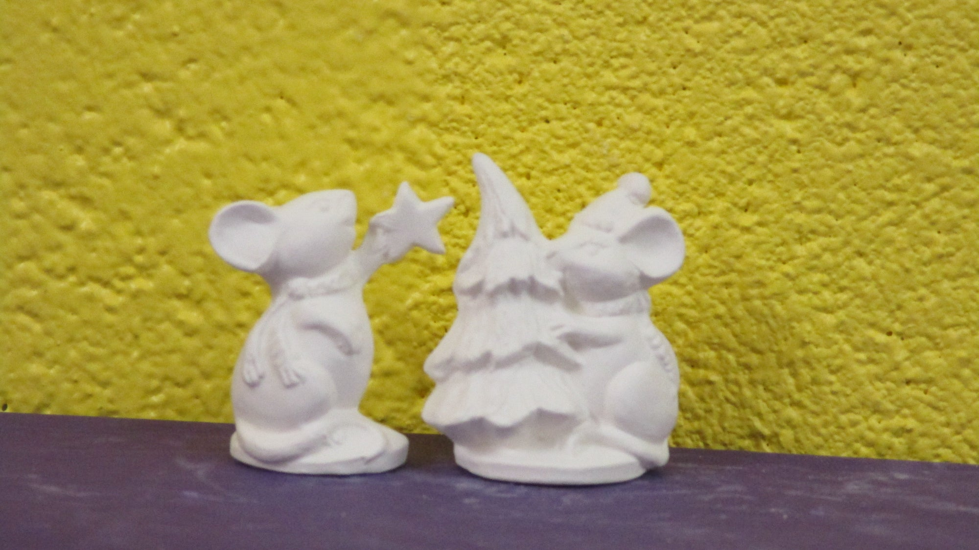 Christmas Mice (2 pc)