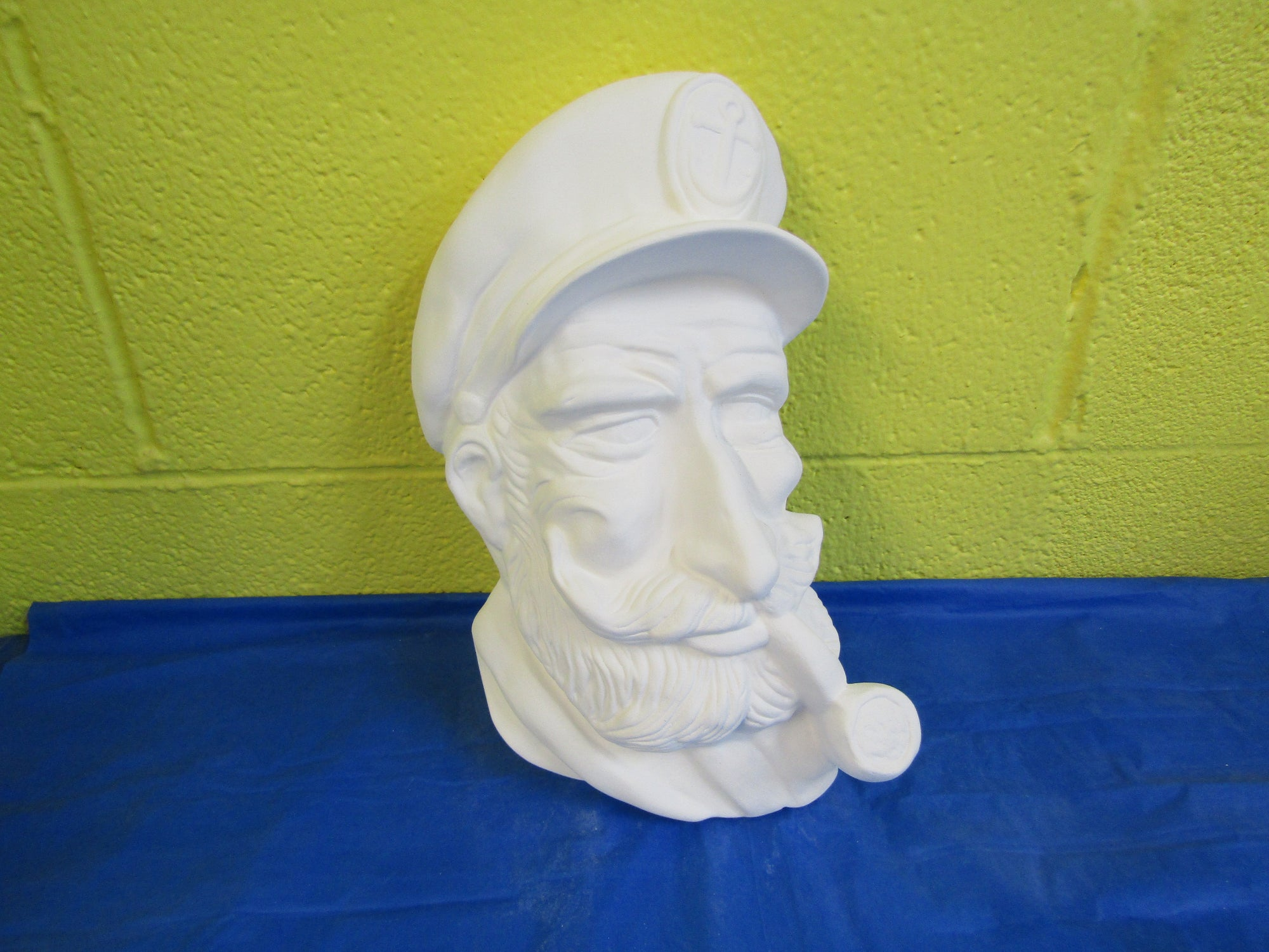 Fisherman - Sea Captain, Right Facing, Wall Hanging