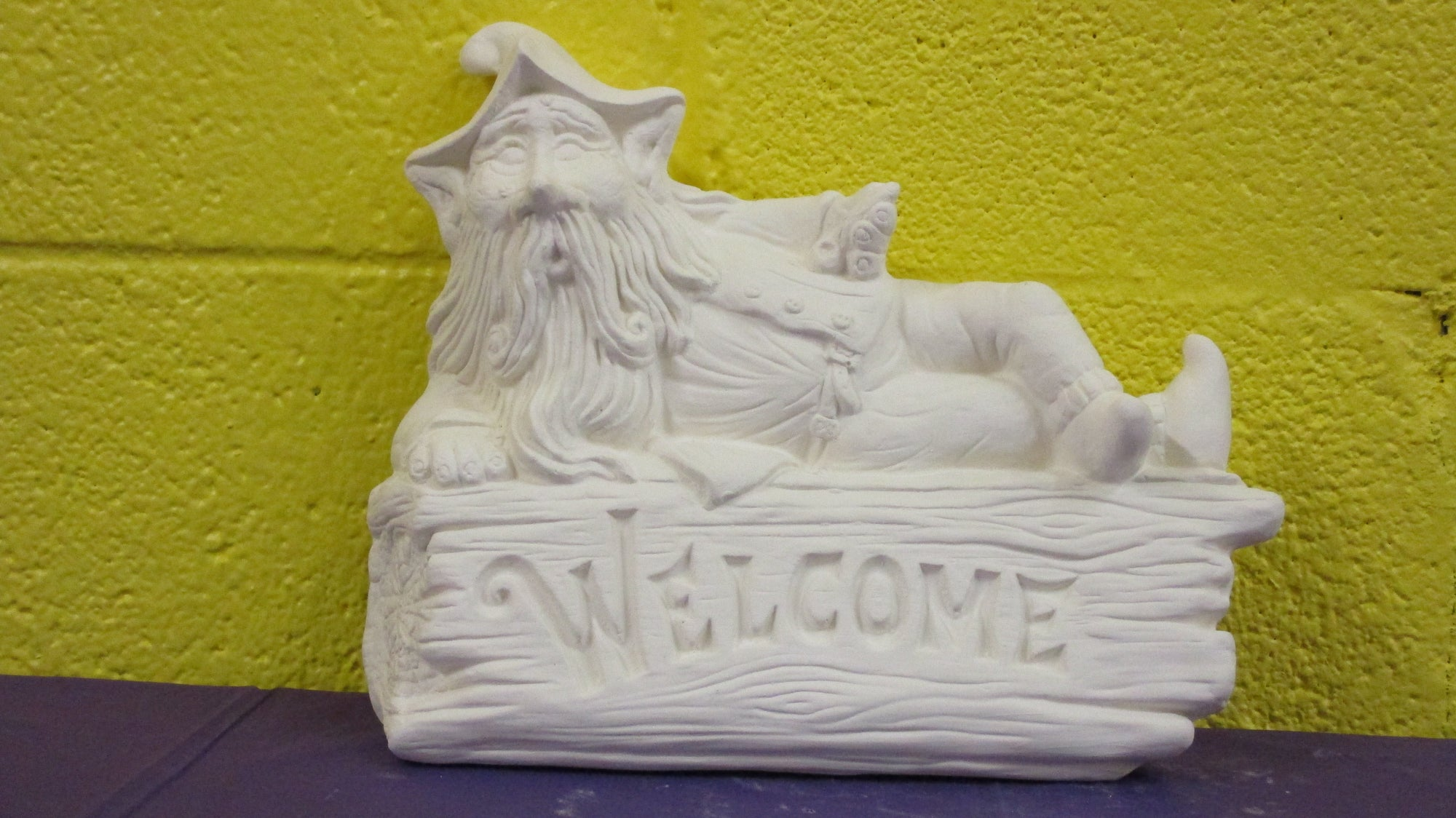 Welcome Gnome Wall Hanging