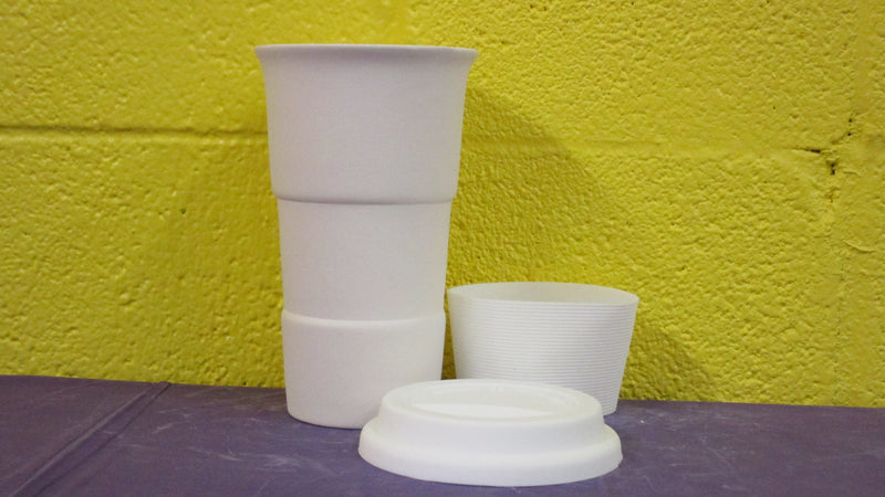 Travel Cup w/sleeve & Lid (3pc)