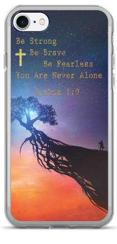 Be Strong - iPhone 7 and 7 Plus Case - Jesus Gift Store