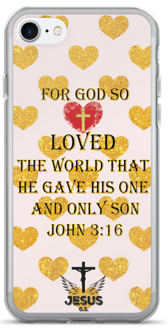 Loved The World - iPhone 7 and 7 Plus Case - Jesus Gift Store