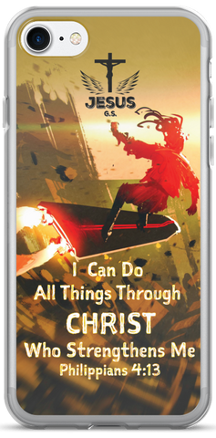 I Can Soar - iPhone 7 and iPhone 7 Plus Case - Jesus Gift Store