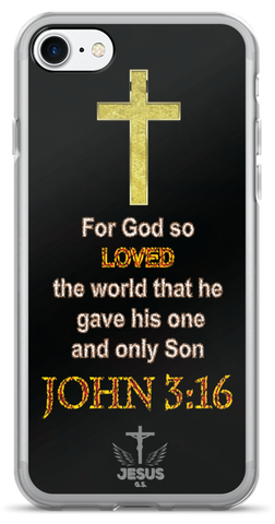 God So Loved - iPhone 7 and iPhone 7 - Jesus Gift Store