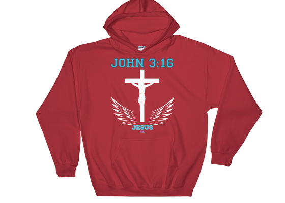 John 3:16 - in 6 colors - Jesus Gift Store