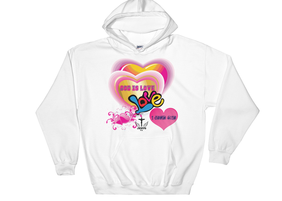 God Is Love - in 5 colors - Jesus Gift Store