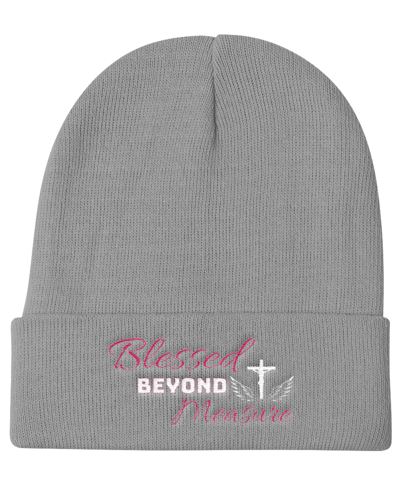 Blessed Knit Beanie (Grey)