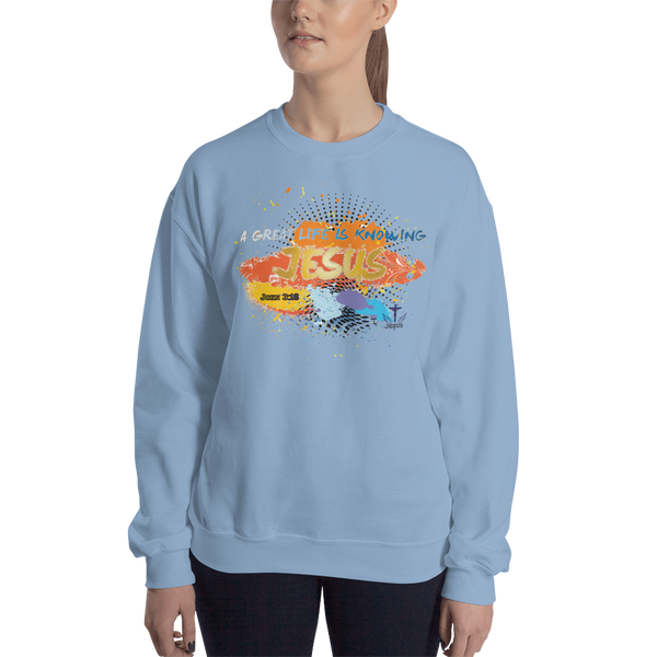 Knowing Jesus (CREWNECK) - in 6 colors